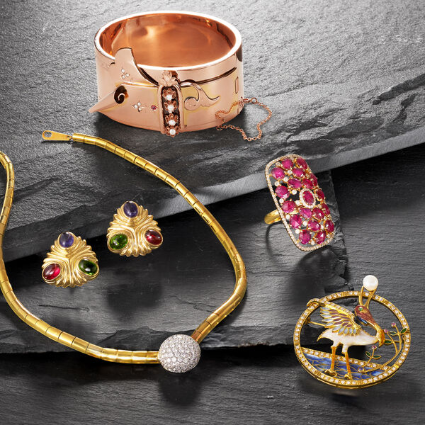 Vintage jewels from every era! Shop Estate