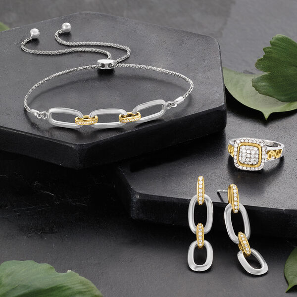 Mixed metals that shine! Shop Two-Tone Silver