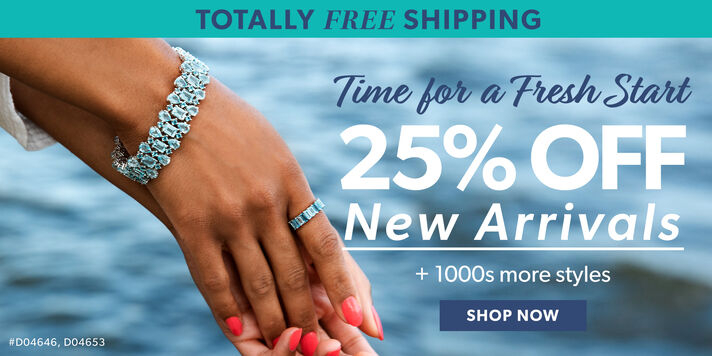 Totally Free Shipping. Time for a Fresh Start. 25% Off New Arrivals + 1000s More Styles. Shop Now. Image Featuring Tonal Blue Topaz Ring in Sterling Silver D04646, London and Sky Blue Topaz Multi-Row Bracelet in Sterling Silver D04653