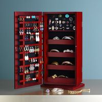 "Cherry ""Safekeeper"" Spinning Jewelry Organizer"