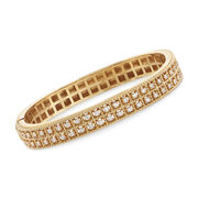 "Roberto Coin ""Barocco"" 1.00 ct. t.w. Diamond Bangle  Bracelet in 18kt Yellow Gold. 7"""