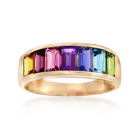 2.20 ct. t.w. Multi-Stone Ring in 14kt Yellow Gold. Size 5
