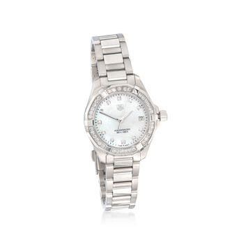 TAG Heuer Aquaracer 32mm Women's .62 Carat Total Weight